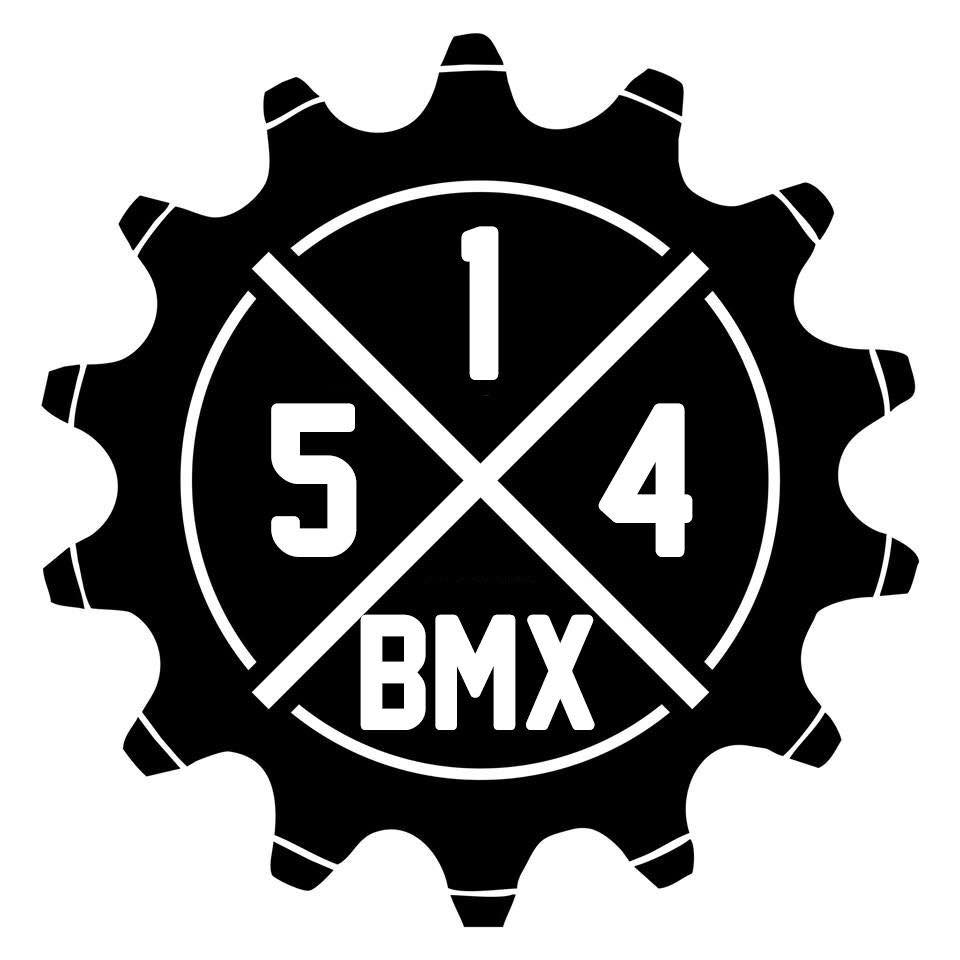 514 BMX logo black on white